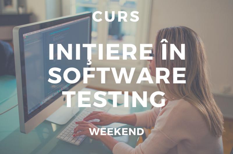 Iniţiere în Software Testing